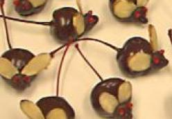 Chocolate-Covered Cherry Mice