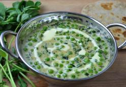 Peas & Fenugreek Cream Curry