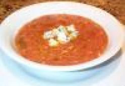 Cuban Garlic and Tomato Soup (Sopa de Ajo al Tomate)