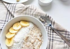 Island Oatmeal Pudding
