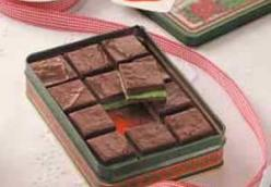 Layered Mint Fudge