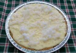Coconut Cheese Cake Pie