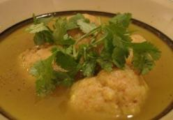 Plantain Soup A.k.a. Caribbean Matzo Ball Soup
