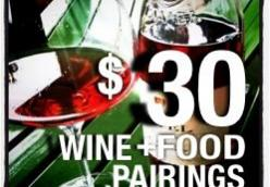 $30 Wine+Food Pairings