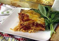 The Lady & Son's Baked Spaghetti