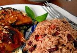 Rice Red Beans (Diri Et Pois Coles)