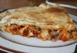 Chicken and Vegetable Calzone