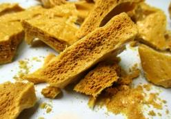 Traditional Honeycomb Toffee