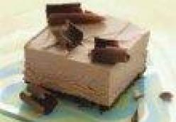 Chocolate Mousse Squares