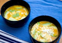 Locro de papas (South American potato soup)