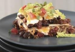 Layered Enchilada Bake