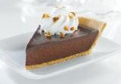 Decadent Chocolate Satin Pie - N