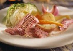 Beer Corned Beef and Cabbage (crockpot)