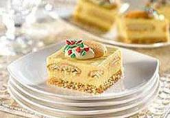 Holiday Eggnog Squares