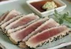 Seasame Seared Tuna