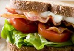 BLT Sandwich with Sesame Mayo
