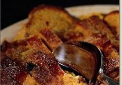 My Grandmother's Ginger-Jam Bread and Butter Pudding