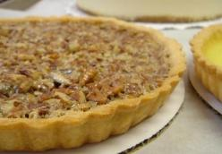 Whiskey Pecan Tart