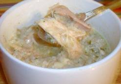 Chicken & Rice (Arroz Caldo)