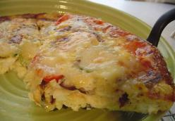 Vegetable And Gruyere Frittata
