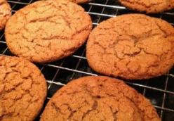 Dark Molasses Crinkles-  Cookies