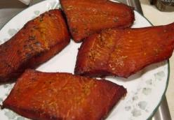 Candy-Smoked Salmon