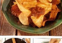 Root Vegetables Chips
