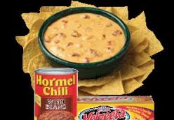 Hormel's Zesty Chili Cheese Dip