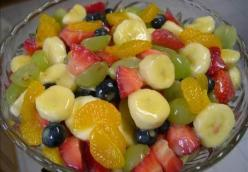 Kentucky Fruit Salad in memory of Wanda Galbreath Butler  Utica, KY