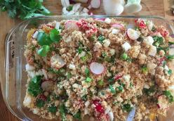 Early Summer Couscous Salad