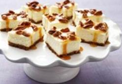 Caramel Cheesecake Bars
