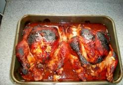 Amish Baked Chicken Barbecue
