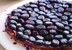 Grape Tarte Tatin