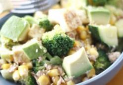 Warm Broccoli and Tofu Salad
