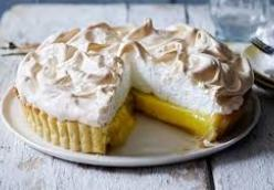 Zingy Lemon Pie