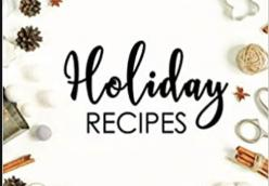 Madison Senior Center Holiday Recipes 2020
