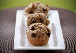 Chocolate Chip Sour Cream Muffins Made Over
