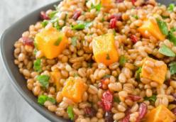 Butternut Squash & Wheat Berry Salad