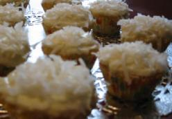 Coconut Cupcakes from the Barefoot Contessa