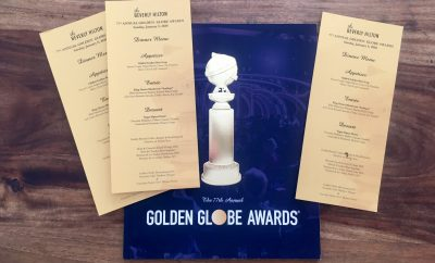 Golden Globes Menu and program