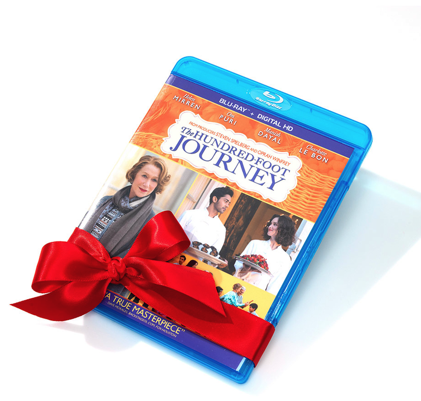 hundred-foot journey blu-ray digital HD