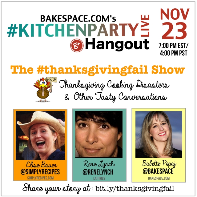 Thanksgiving Fail Show banner