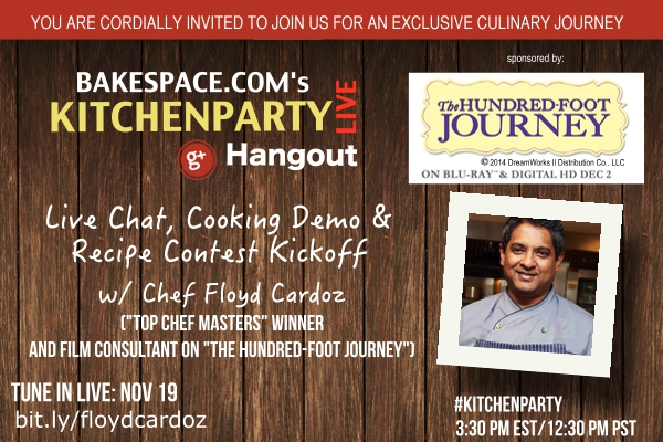 KitchenParty Chef Cardoz