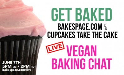VEGAN BAKING BLOG BANNEER