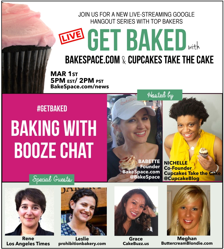 baking with booze banner with guests