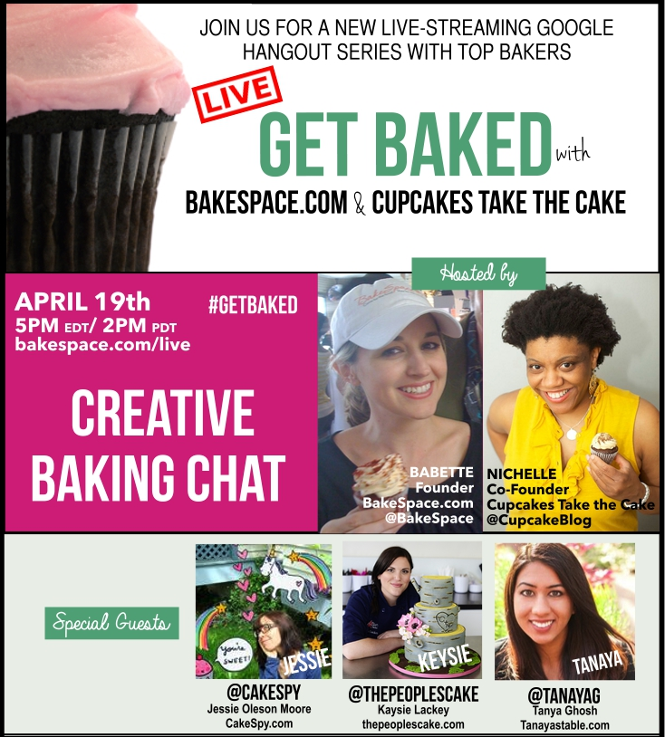 creative baking chat banner