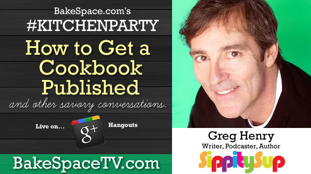 how to get a cookbook published