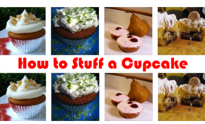 how to stuff a cupcake