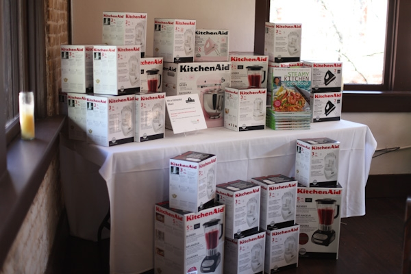 Thanks to KitchenAid, we gave away over 50 appliances!