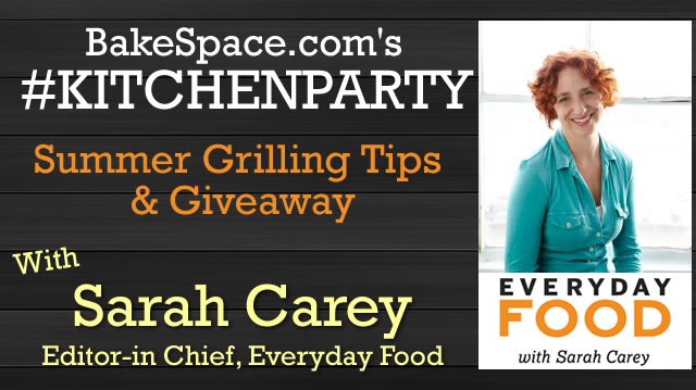 sarah carey grilling with giveaway